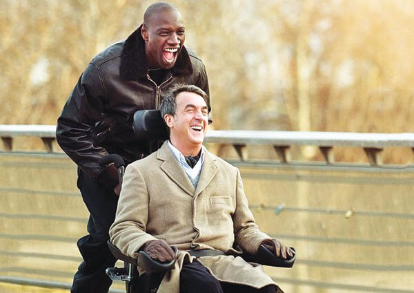 Omar Sy & François Cluzet in The Intouchables