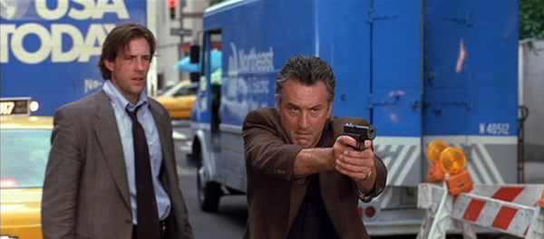 Edward Burns & Robert DeNiro in 15 Minutes