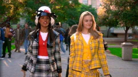 Stacey Dash & Alicia Silverstone in Clueless