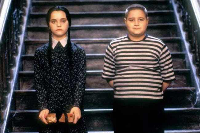 Christina Ricci & Jimmy Workman in Addams Family Values