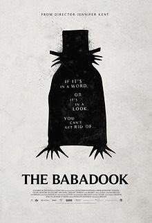 If it's in a word, or it's in a look, you can't get rid of The Babadook