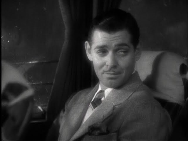 Clark Gable in It Happened One Night