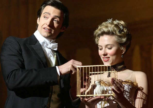 Hugh Jackman & Scarlet Johansson in The Prestige