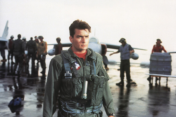 Charlie Sheen in Hot Shots!