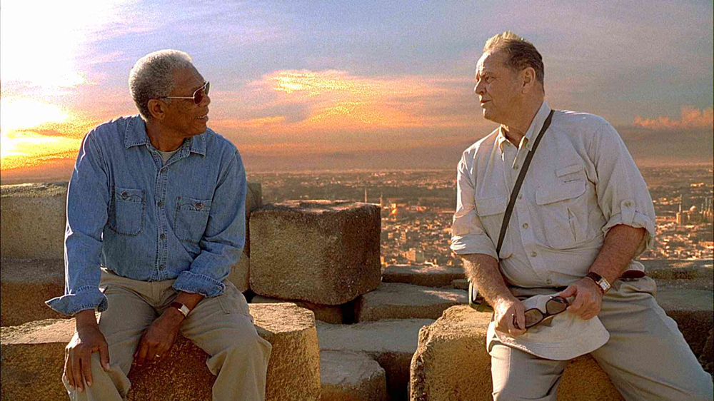 Morgan Freeman & Jack Nicholson in The Bucket List