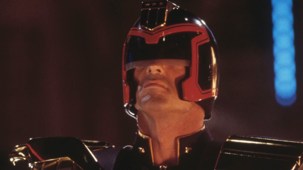 Sylvester Stallone in Judge Dredd