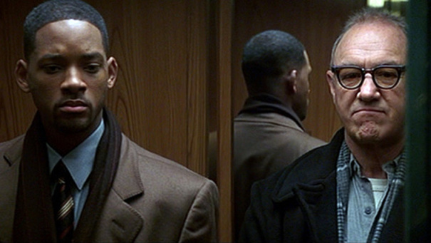 Will Smith & Gene Hackman in Enemy of the State