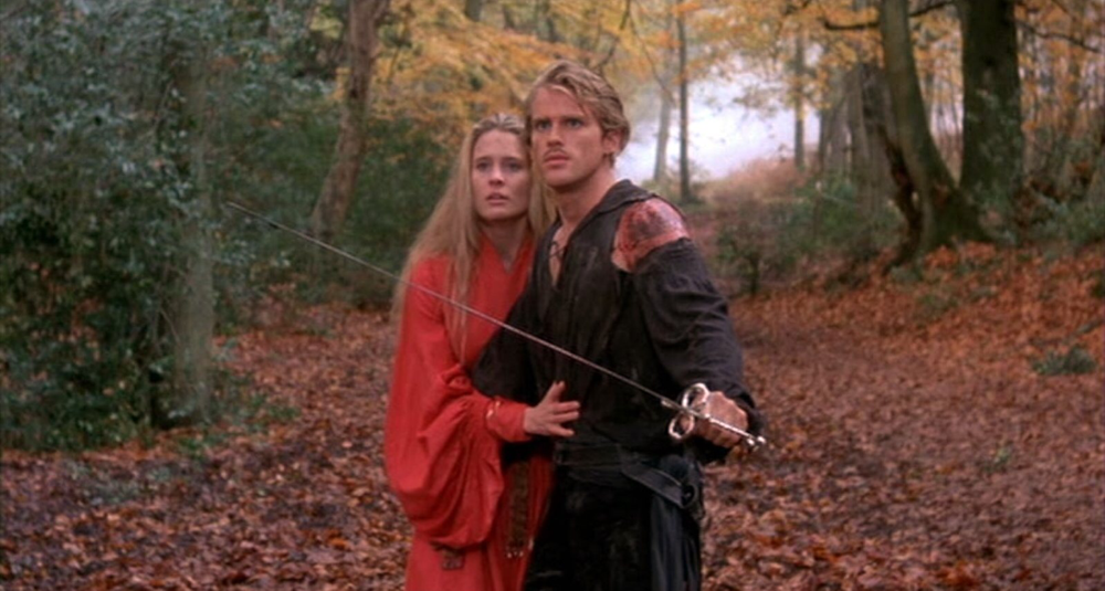 Robin Wright & Cary Elwes in The Princess Bride
