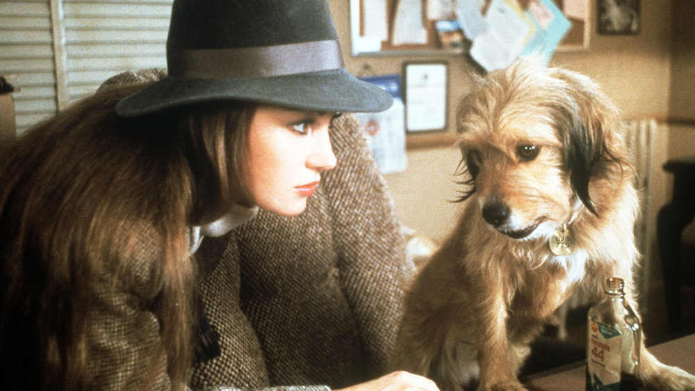 Jane Seymour & Benji in Oh Heavenly Dog