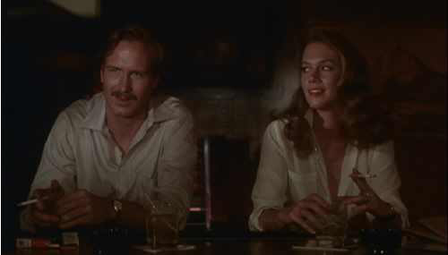 William Hurt & Kathleen Turner in Body Heat