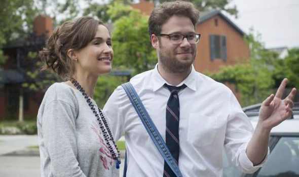 Rose Byrne & Seth Rogen in Bad Neighbours