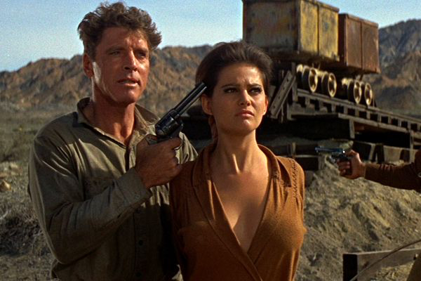 Burt Lancaster & Claudia Cardinale in The Professionals