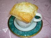 かぼちゃスープのパイ包み焼
