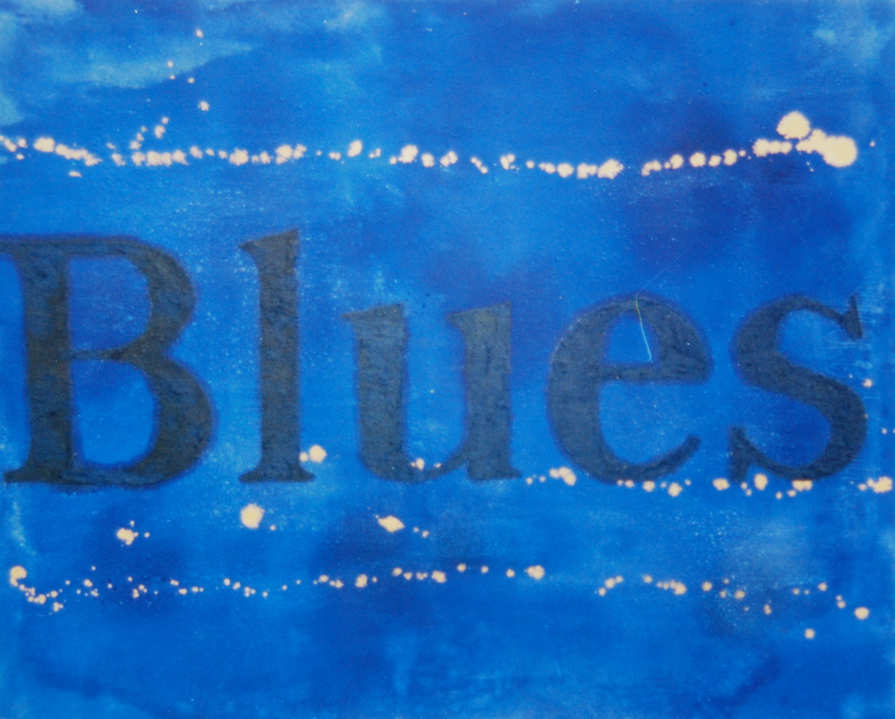 Blues, 1990, 132 x 105, Privatsammlung Dr. Doldinger