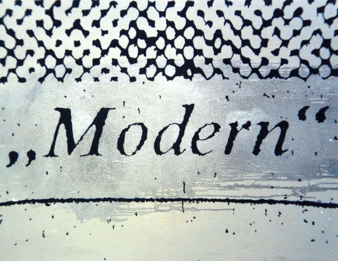 Modern, 1990, 132 x 105, Privatsammlung