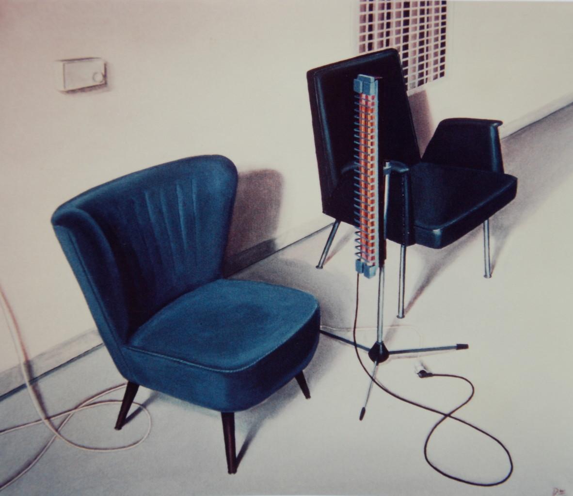 Zweisamkeit, 1982, 110 x 130, Privatsammlung