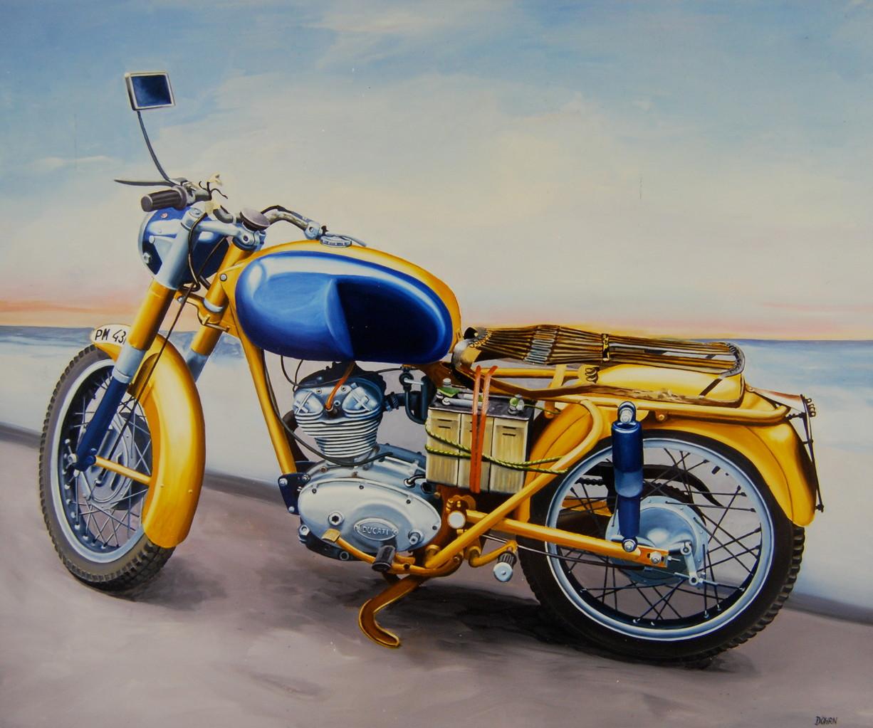 Ducati, 1982, 160 x 130, Privatsammlung