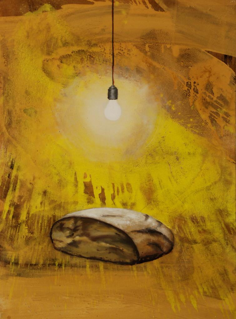 Brot, 2009, 110 x 130, Privatsammlung, Düsseldorf