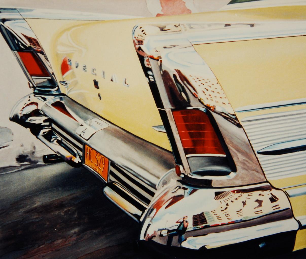 Special, 1986, 135 x 105 cm, Privatsammlung Dr. Doldinger