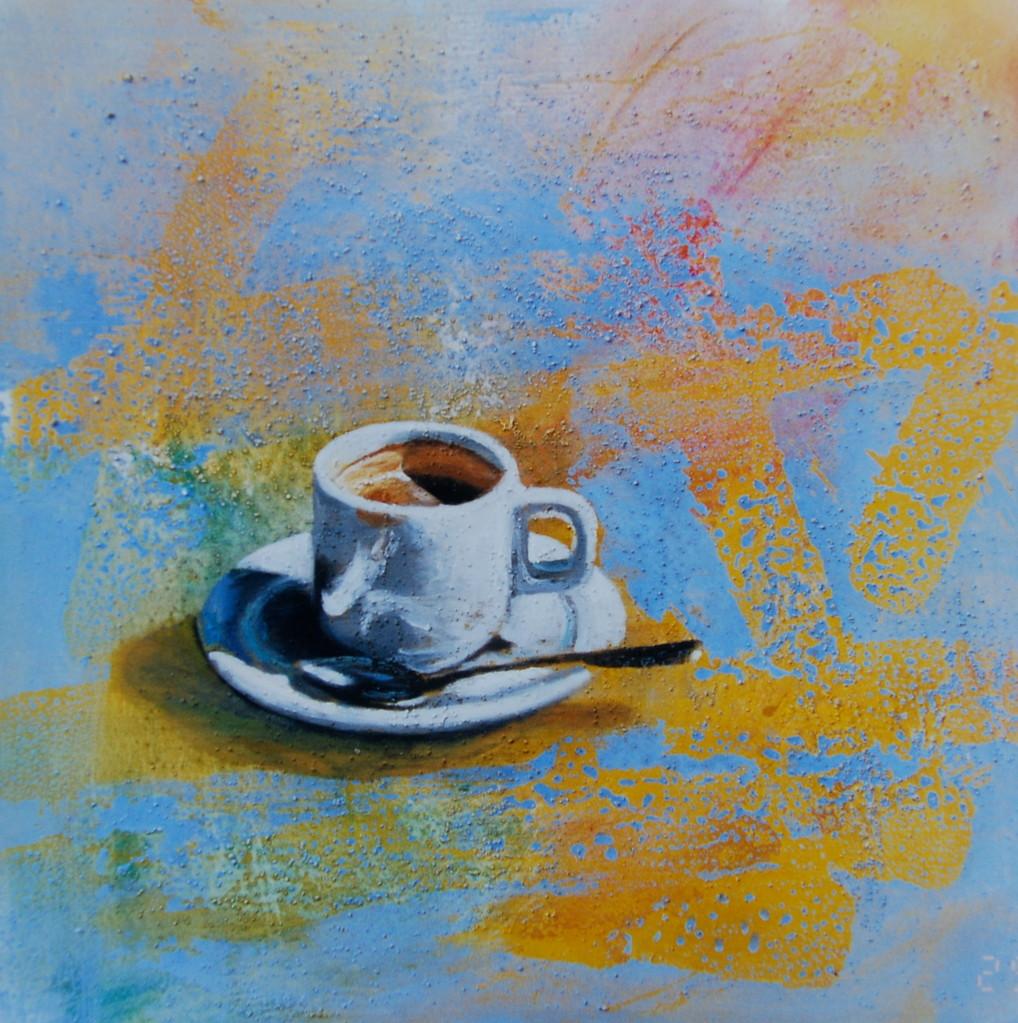 Espresso, 1997, 100 x 100, Privatsammlung