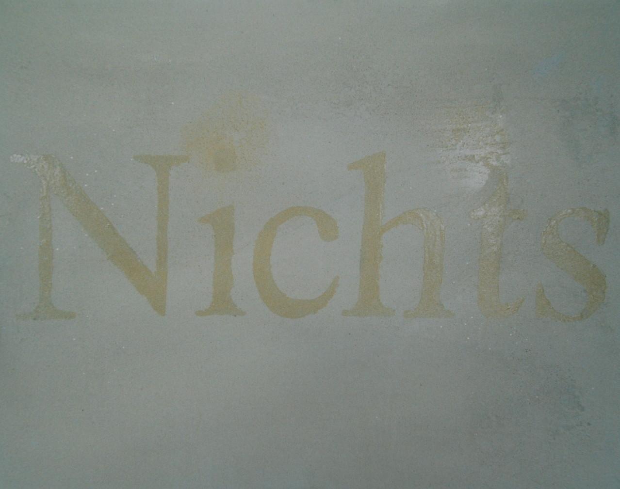 Nichts, 1995, Mischt./LW, 135 x 105, Privatsammlung Düsseldorf
