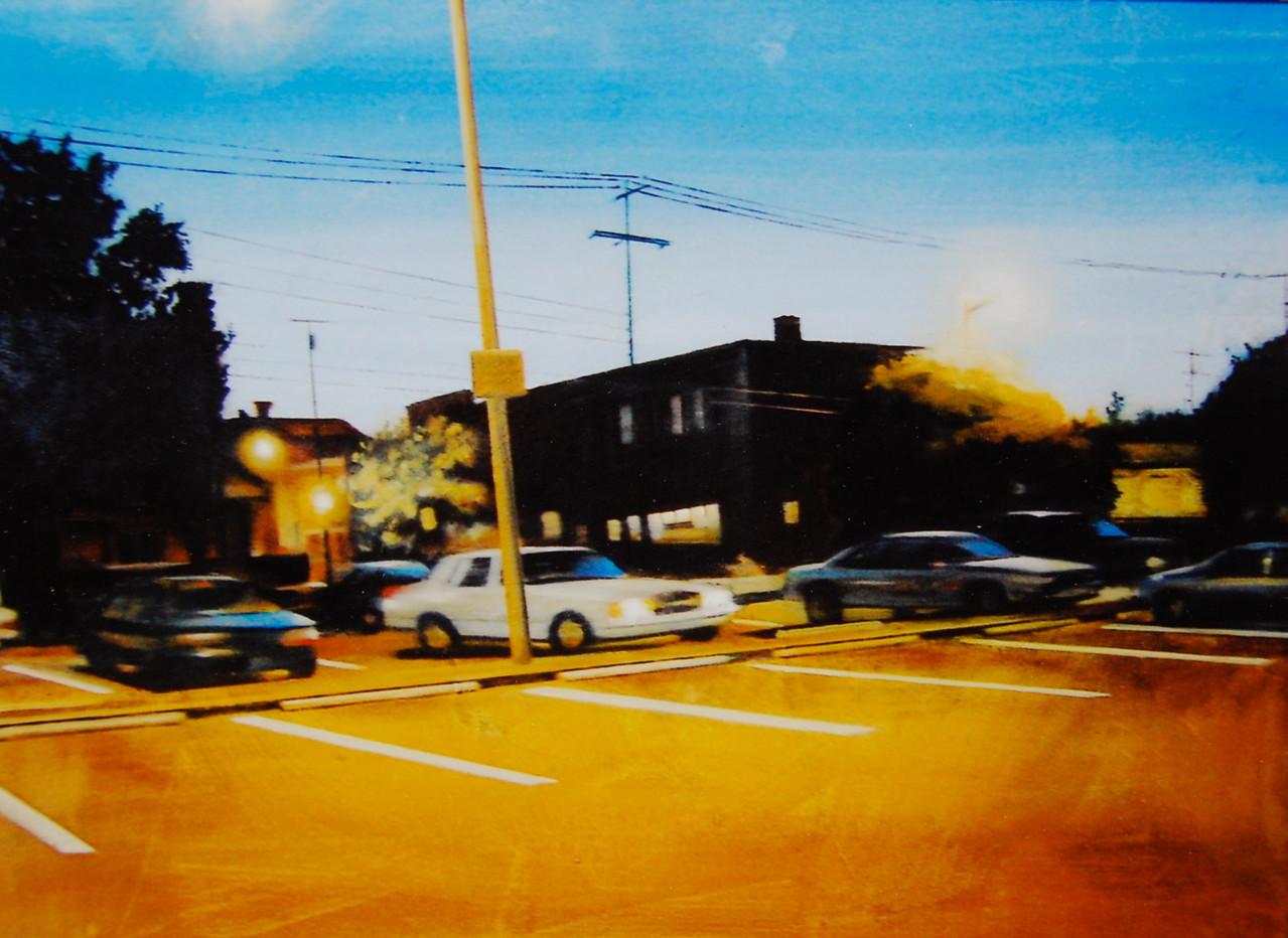 Parkplatz, 2004, 135 x 105, Privatsammlung