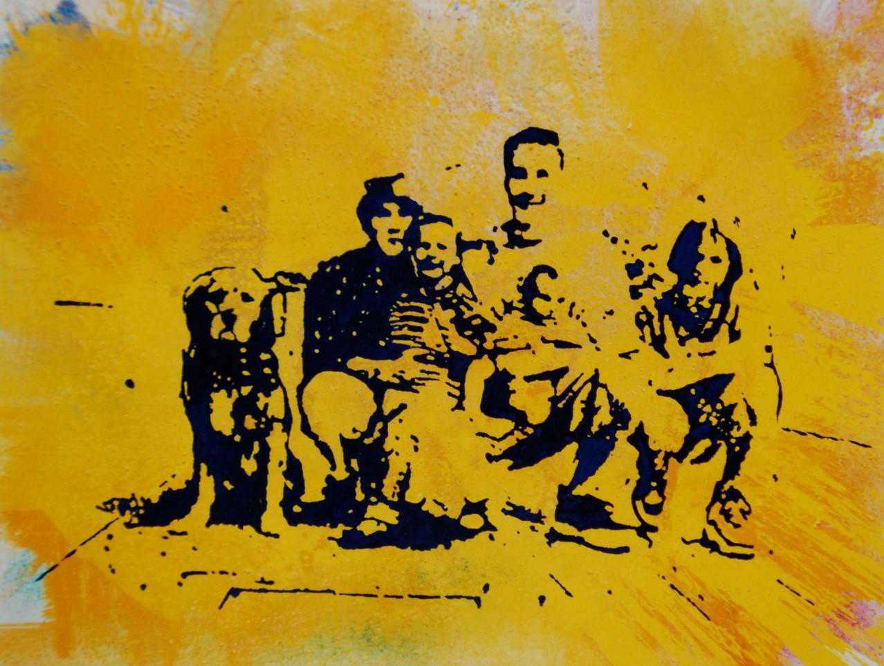 Familie S., 1997, 110 x 90, Privatsammlung