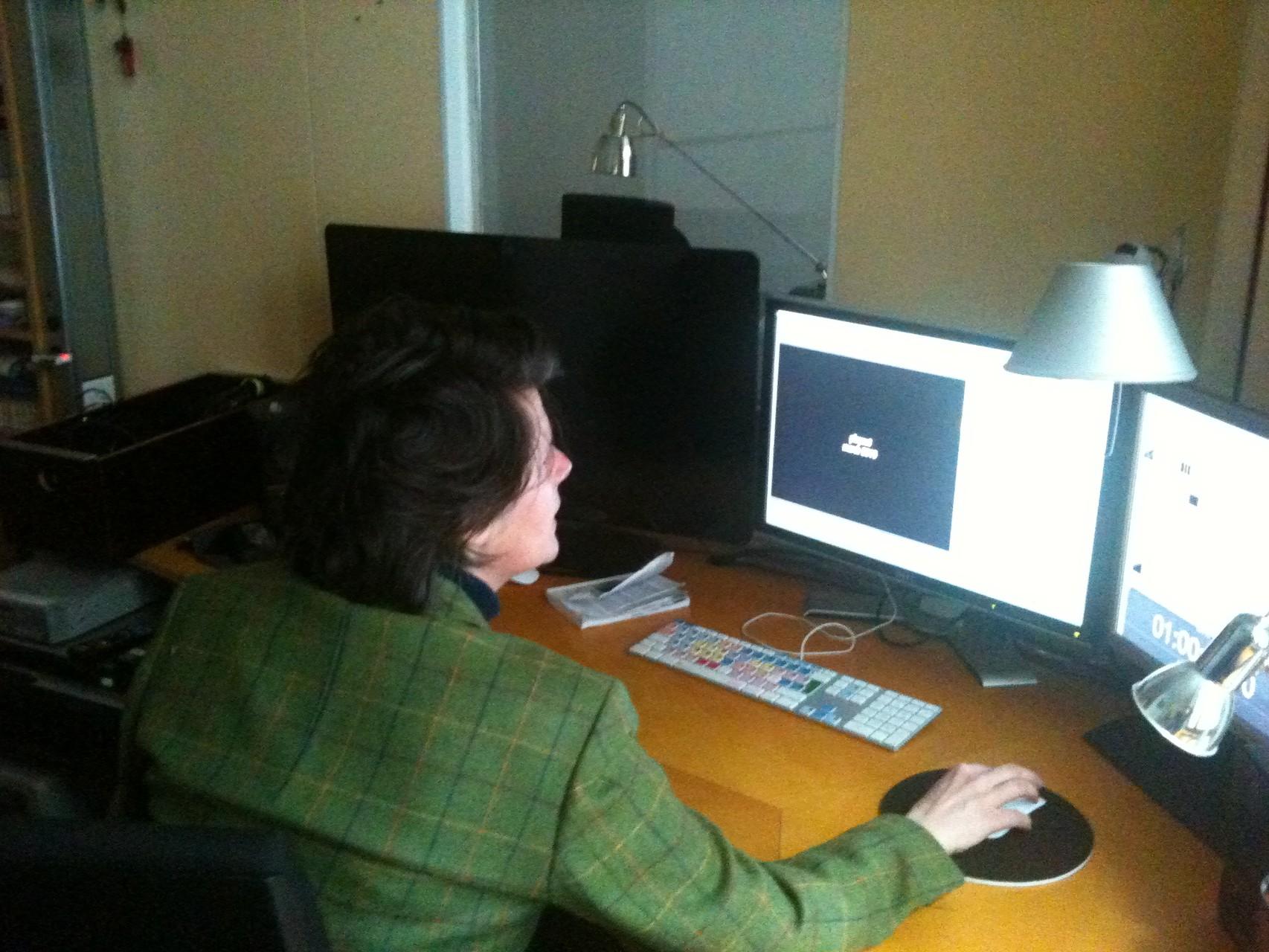 Postproduktion bei Arpad  Bondy