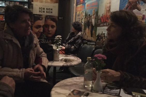 Mit Schauspielerin Sabine Vitua