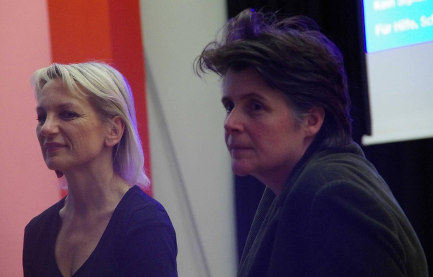Mit Verena Thomann