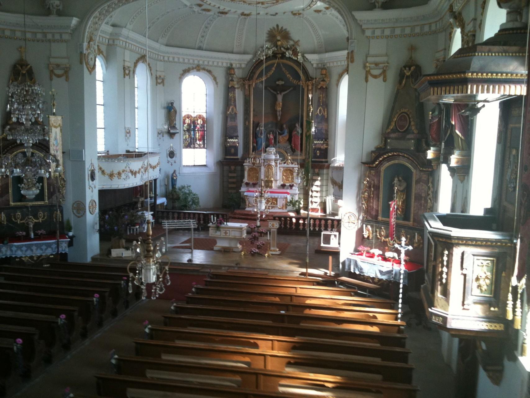 Kirche in Buchenberg