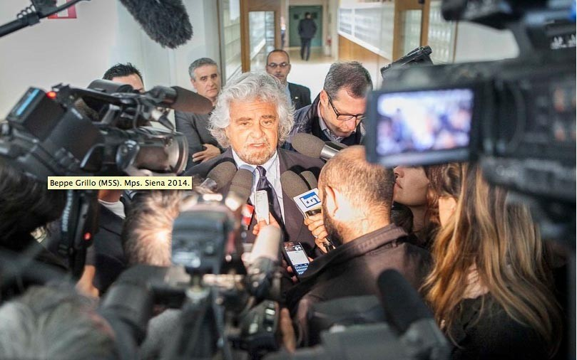 BEPPE GRILLO. Lider M5S.