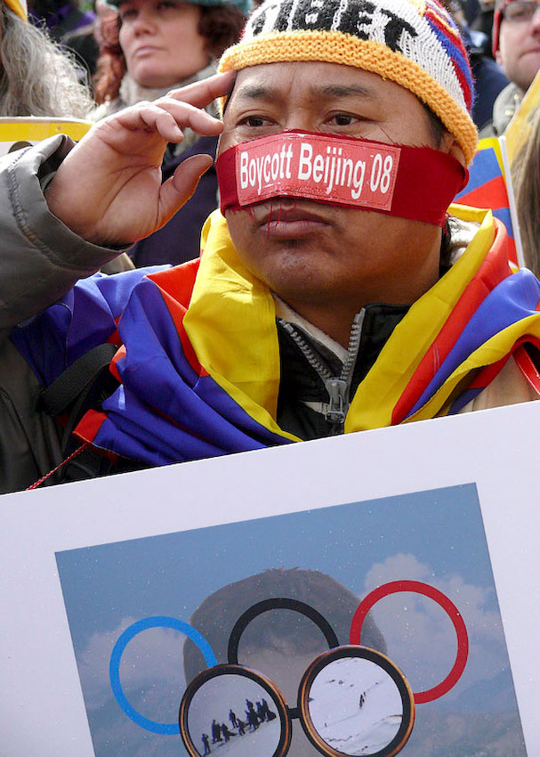 TIBETAN STRIKE AGAINST CHINA OCCUPATION. FREE TIBET.
