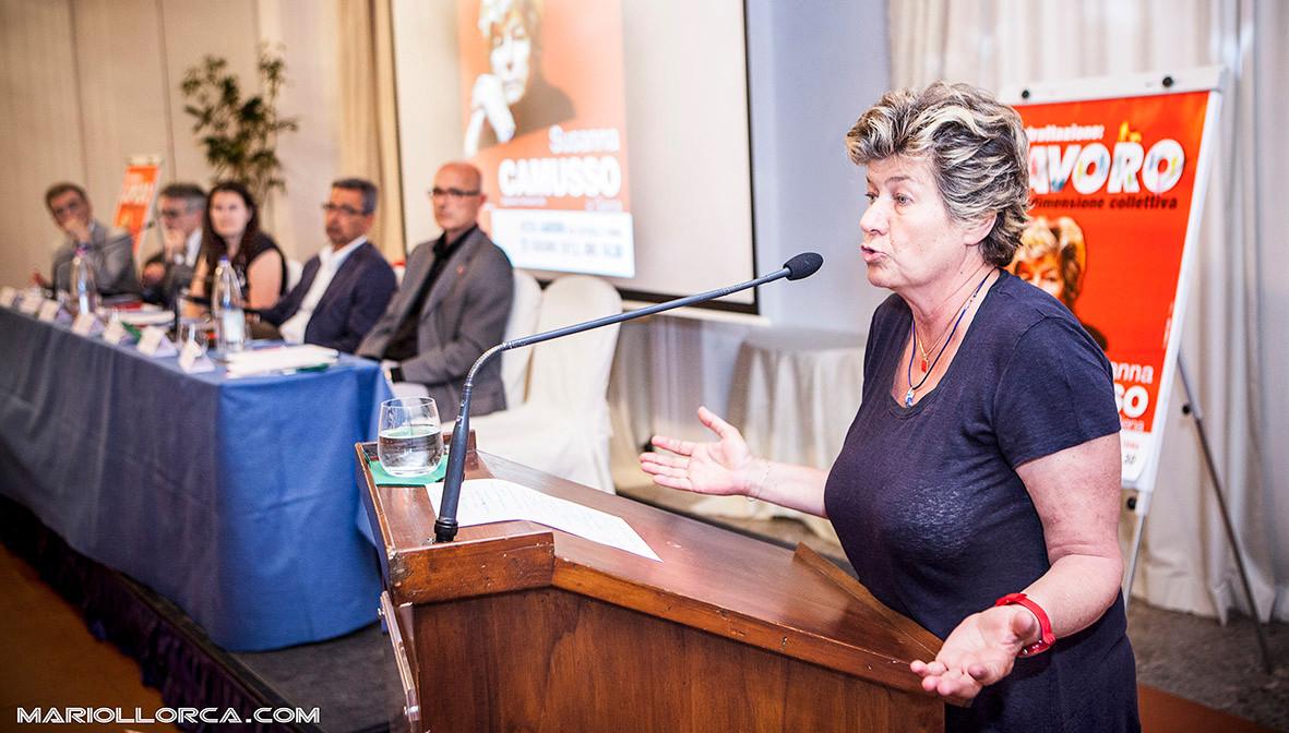 SUSANNA CAMUSSO. Segretario Generale CGIL.