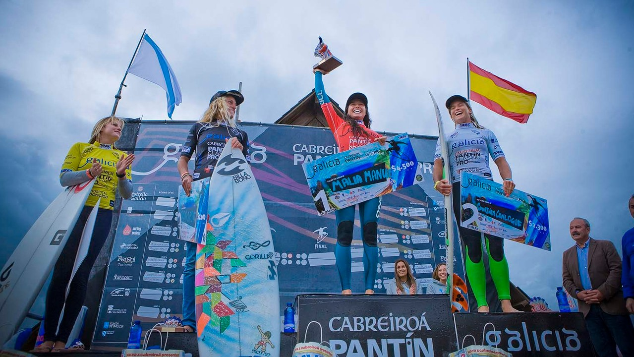 Pantin Classsic Surf. Female Final Surf World Championship.