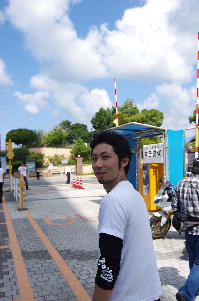 大桐さん、今回は一日中駐車場整理ありがとうございました~(#^.^#)