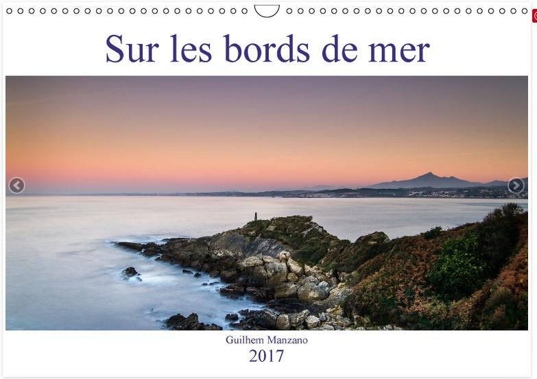Calendrier de photos de paysages du bord de mer