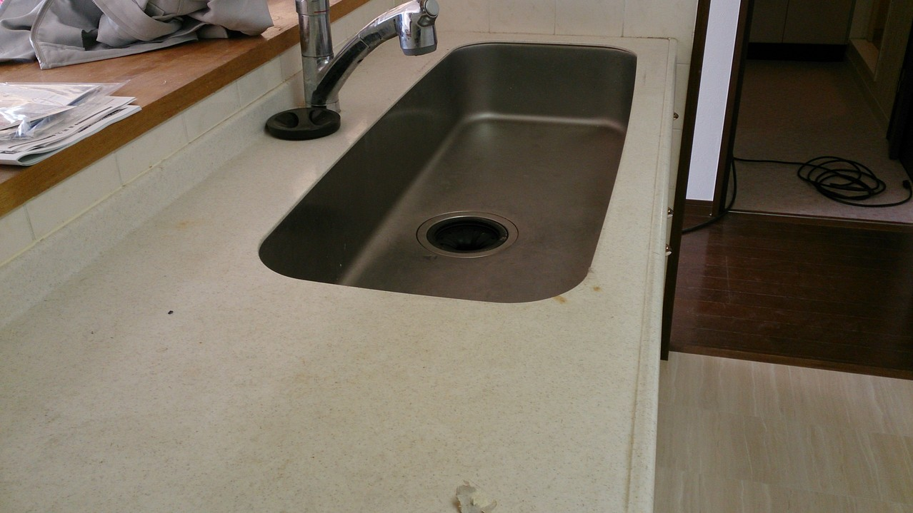 キッチン洗浄前