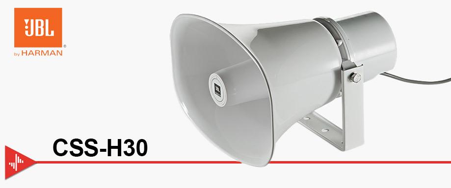 bocinas de trompeta, bocina para voceo, jbl css-h30