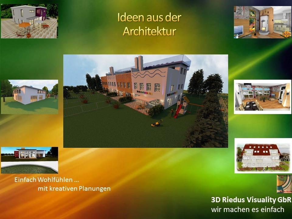 3D Riedus Visuality GbR # 15 Ideen aus der Architektur