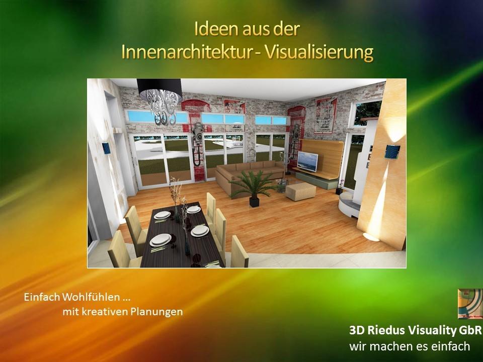 3D Riedus Visuality GbR # 14 Ideen aus der Innenarchitektur - Visualisierung