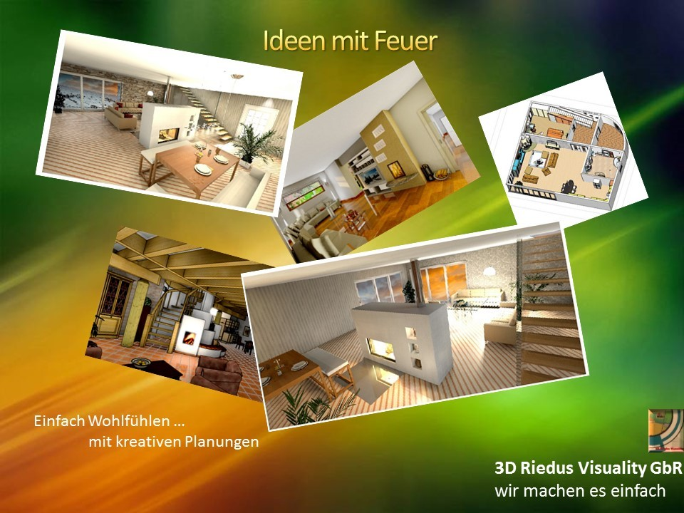 3D Riedus Visuality GbR # 12 Ideen mit Feuer