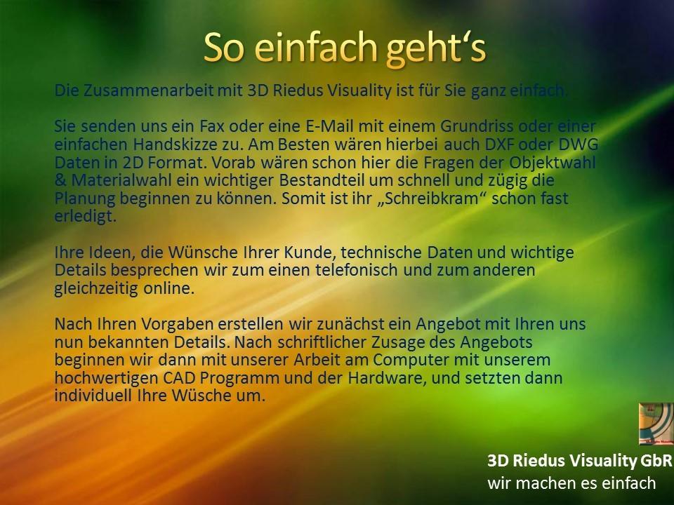 3D Riedus Visuality GbR # 8 So einfach geht's