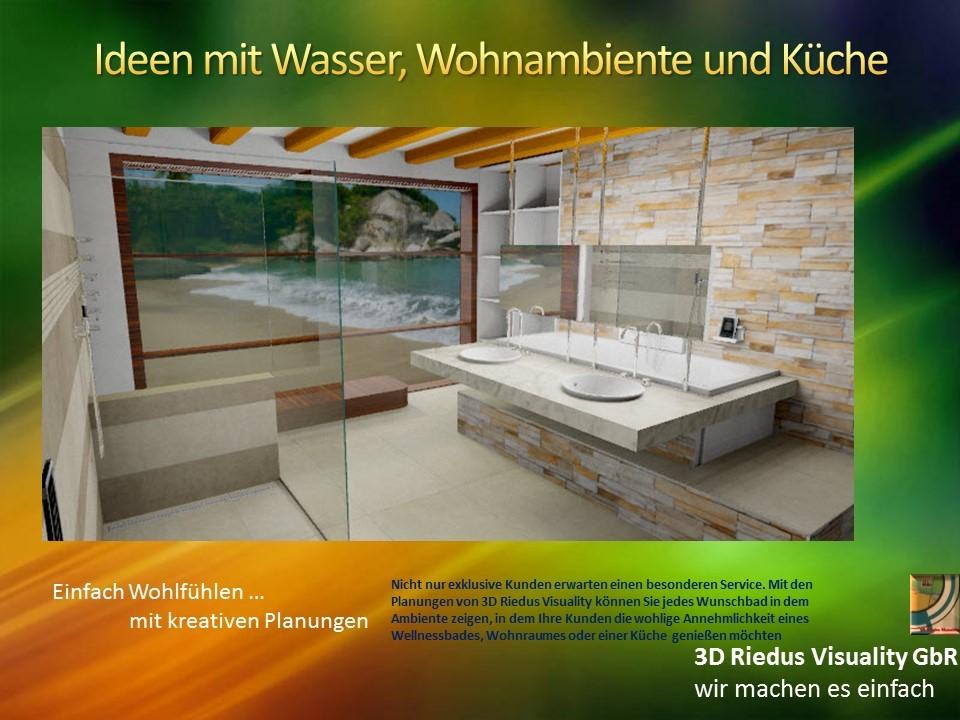 3D Riedus Visuality GbR # 10 Ideen mit Wasser, Wohnambiente und Küche