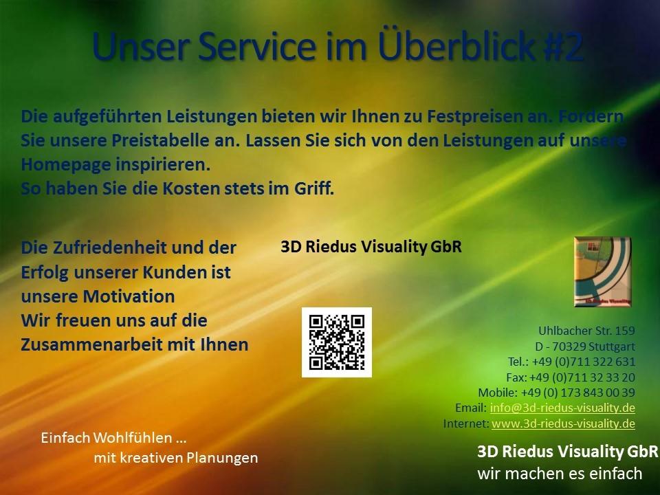 3D Riedus Visuality GbR # 17 Unser Service im Überblick #2