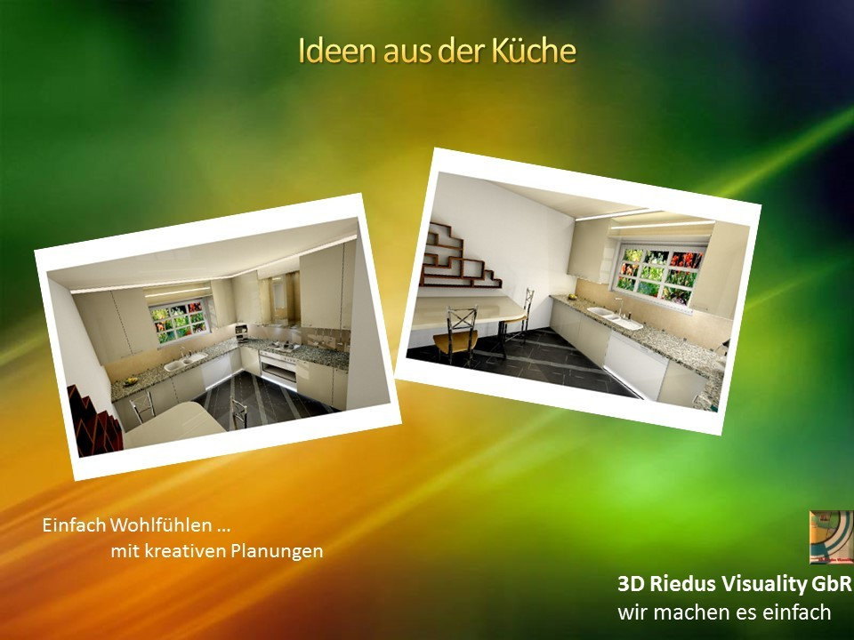 3D Riedus Visuality GbR # 13 Ideen aus der Küche