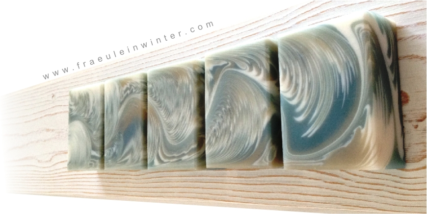 """Cosmic Wave"" - Soap by Fräulein Winter"