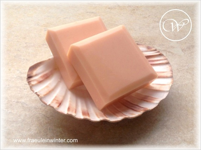 "Seife ""Rose"" - handmade soap by Fräulein Winter"