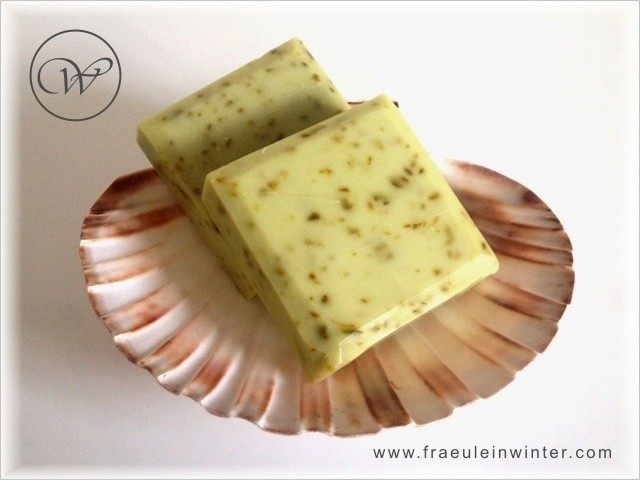 Kräuter & Petersilie - handmade soap by Fräulein Winter