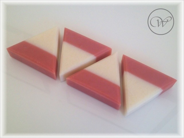 "Seife ""Tea Rose"" - equilateral soap - handmade soap"
